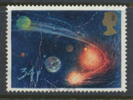 Great Britain SG 1315 - Used - Halley's Comet