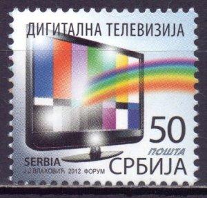 Serbia. 2012. 477. A television. MNH.