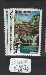 CAMBODIA (P1501B) WATERFALLS  SC  123-5       MOG