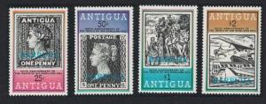 Barbuda Death Centenary of Sir Rowland Hill 2nd issue 4v SG#452-455