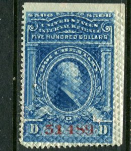 United States #R249 Roller Embossed Cancel
