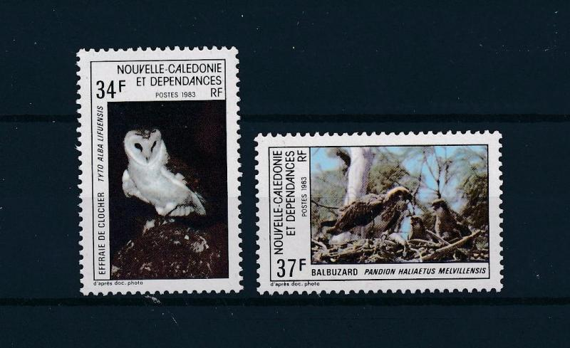 [51864] New Caledonia 1983 Birds Vögel Oiseaux Ucelli  Owl Eagle