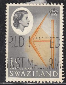 Swaziland 93 Used 1962 Battle Axe