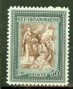 San Marino 265 mint CV $18
