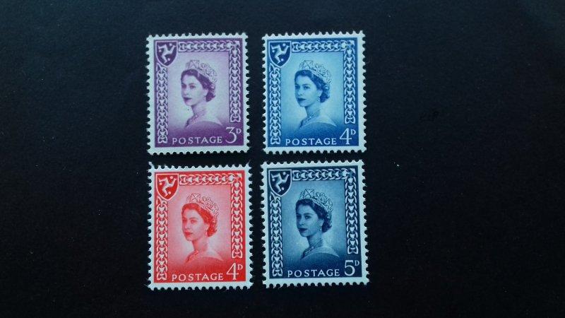 Isle of Man Definitive Issue - Queen Elizabeth Mint