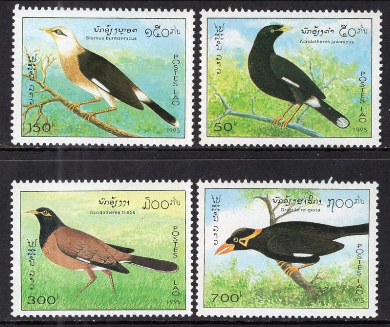 Laos 1243-1246 Birds MNH VF