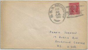 USS ROCHESTER CA-2 Naval Cover 1931 & 1932 Cancels BALBOA, CANAL ZONE