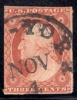 US Stamp #10A USED SCV $145