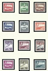 Antigua 84-95 MNH 1938-51 Definitive Set
