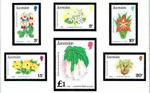 Ascension 275a-87a MNH 1982 issues from Definitive dated 1982