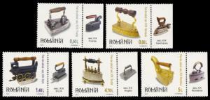 Romania 2012 Scott #5345-5349 Mint Never Hinged