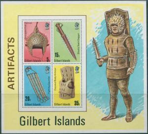 Gilbert Islands 1976 SG47 Artefacts MS MNH
