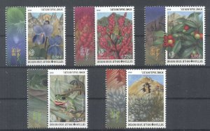 Greece Mount Athos 2010 Flora Fauna A' issue MNH XF.