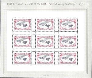 3210 Mint,OG,NH... Pane of 9... SCV $22.50... XF
