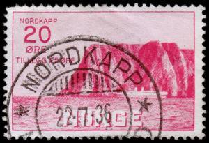 Norway Scott B2 (1930) Used F-VF, CV $80.00 C