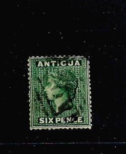 ANTIGUA 1876  6d  QV  FU  SG 18