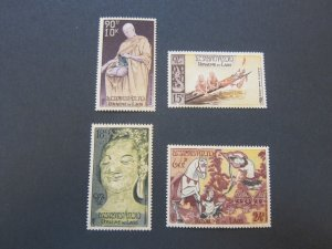 Laos 1957 Sc C27-30 UN set MNH