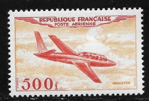 France Scott #C31 - 500f Miles Magister - Mint Never Hinged (NH)