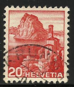 Switzerland 1938 Scott# 243 Used