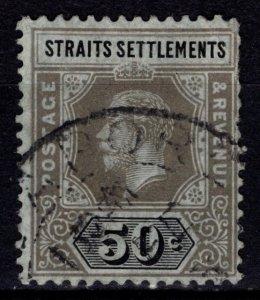 Straits Settlements 1912 George V Definitive, 50c [Used]