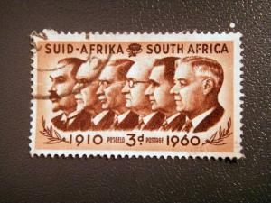 SOUTH AFRICA 1960 3d used SG 184 value £ 0.10