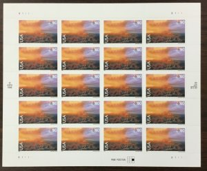 C-135    Grand Canyon, Arizona.    Mint 60¢  Sheet of 20.   Issued in 2000.