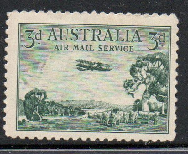 Australia Sc C1 1929 1st Airmail stamp mint NH