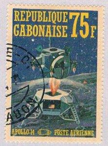 Gabon C108D Used Space 1971 (BP3584)