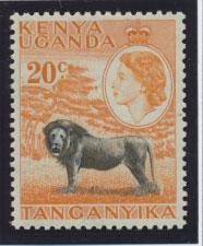 Kenya Uganda Tanganyika SG 170  Mint Never Hinged