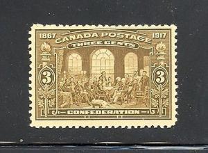 Canada #135  Mint NH VF - Lakeshore Philatelics
