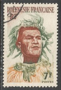 FRENCH POLYNESIA 187 VFU Z2014-1
