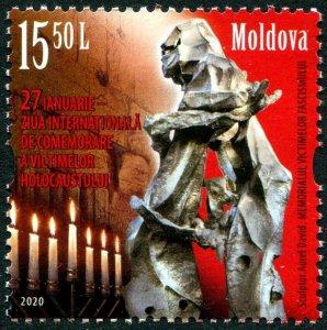 HERRICKSTAMP NEW ISSUES MOLDOVA Holocaust Remembrance Day