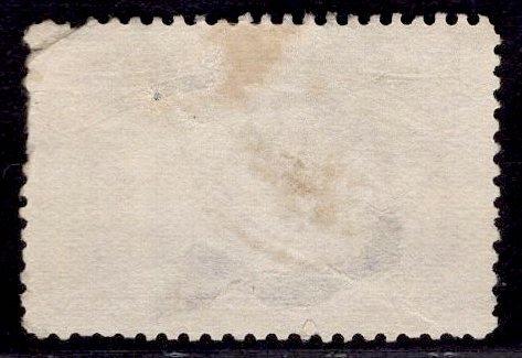US Stamp #235 6c Columbian USED SCV $22.50