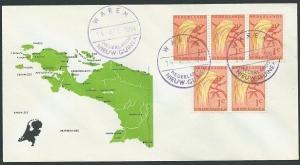 NETHERLANDS NEW GUINEA 1961 cover WAREN cds................................46296