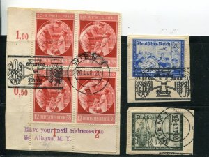 Austria Third Reich special cancels  Scarce   - Lakeshore Philatelics