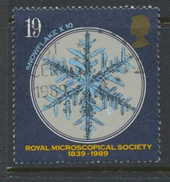 Great Britain SG 1453  Used   - Microscopial Society