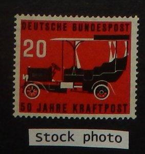 Germany 728. 1955 Postal Motor-Bus Service, NH
