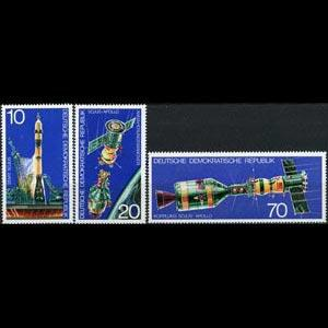 DDR 1975 - Scott# 1683-5 Space Test Set of 3 NH
