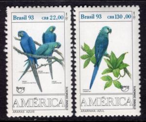 Brazil 2423-2434 Birds MNH VF