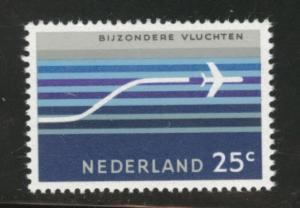 Netherlands Scott C15 1966 MH* Airmail stamp