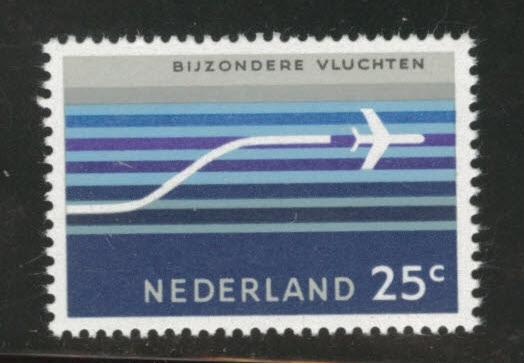 Netherlands Scott C15 1966 MH* Airmail stamp