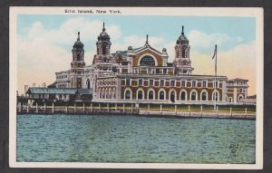 Used Postcard: New York City – Ellis Island Immigration Depot