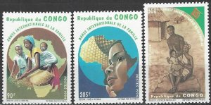 Congo  1072-4   MNH  UN Year of the Family