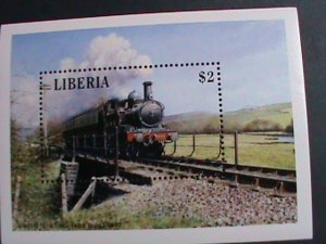 LIBERIA- LOCO MOTIVES-THE 1932 TRAIN-S/S MNH-VERY FINE WE SHIP TO WORLD WIDE