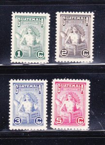Guatemala 320-323 Set MNH Labor Day