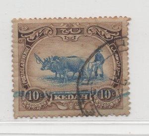 Malaya Kedah - 1921 - SG 30c - Used