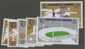 Singapore 183-88 ** mint NH (2110 27)