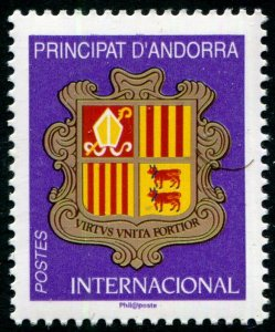 HERRICKSTAMP NEW ISSUES ANDORRA-FRENCH Sc.# 800 Coat of Arms 2019