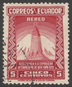 ECUADOR C81 VFU Z5631-2