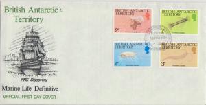 British Antarctic Territory Scott 102-116 Unaddressed.
